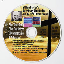 Daily Study Bible Series William Barclay 17 vol + Rare Barclay Lectures & Videos