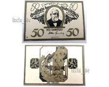 Gutschein Banknote DELITZSCH 1921 Weimarer Republik German Paper money cash note