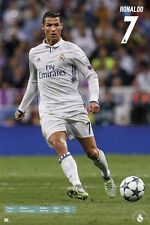 Cristiano Ronaldo CR7 Real Madrid  Soccer Poster Season 2016 - 2017 Brand New