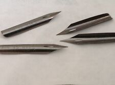 Nibs 4 Piece Set, #2, Spencerian, Calligraphy Fountain Pen, Vintage