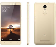 "Xiaomi Redmi Note 3 Pro 5.5"" 16GB 16MP Dual SIM Unlocked Smartphone Gold UU"