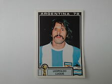 PANINI WORLD CUP STORY - N.106 - WC ARGENTINA 78 - LUQUE ARGENTINA