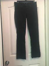 JUICY COUTURE A90 Solid Black Boot Cut Jeans SIze 27 (27x29)
