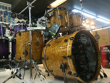 Mapex Saturn IV MH Exotic Drum Set Natural Ash Burl 4pc Shell Pack