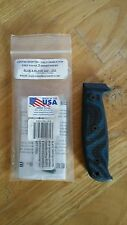 ESEE Model 3 Knife Scales Blue Black G10 Knife Connection TKC Custom Fixed Blade