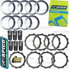 Apico Clutch Kit Steel Friction Plates & Springs For KTM XC-F 350 2012 Enduro