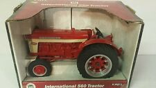 Ertl International 560 1/16 diecast metal farm tractor replica collectible