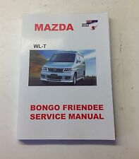 Mazda Bongo 2.5TD Diesel 1995-2006 Workshop Service Manual (free electrics cd)