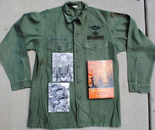 Documented Special Forces Veteran's OG-107 Uniform, Photos and Book
