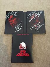 Dawn Of The Dead Cast Signed DVD George Romero Tom Savini Rare Horror Gore