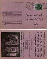 RE DI MAGGIO-1L(551)-Cartolina SOLIDARIETA' UMANA E FRATERNITA'-Roma 10.5.1946