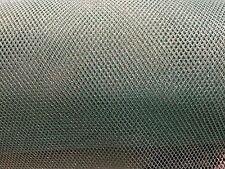 "Net Tessuto Mesh-Morbido-Blu Argento - 45 "" / 115 cm larghezza-al metro"