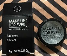 Make up for ever Glitters #2 Silver
