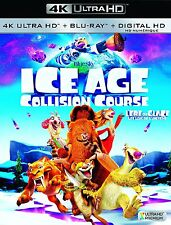 Ice Age: Collision Course (Blu-Ray,2016,Canadian,4K Ultra HD,Digital, FR. INCL)