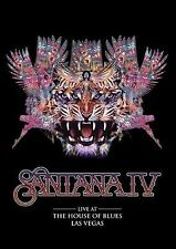 SANTANA IV LIVE AT THE HOUSE OF BLUES LAS VEGAS DVD ALL REGIONS NTSC NEW
