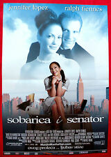 MAID IN MANHATTAN 2002 JENNIFER LOPEZ RALPF FIENNES UNIQUE SERBIAN MOVIE POSTER