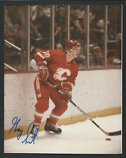 "Gary Suter Signed 8""x10"" photograph Calgary Flames"