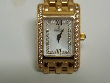 Concord Ladies Mini Vento 18K Yellow Gold MOP Dial with Diamonds Dial & Bezel