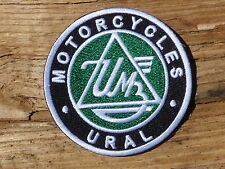 ECUSSON PATCH THERMOCOLLANT aufnaher toppa URAL MOTORCYCLES moto sidecar course