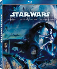 Star Wars Episodes IV, V & VI - 3 Disc Blu-Ray Boxet - George Lucas