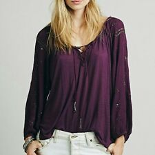 Free People Womens Golden Nugget Top XS