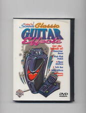 CLASSIC ELECTRIC GUITAR EFFECTS PEDALS DVD NEW