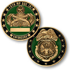 NEW U.S. Army 16th Military Police Brigade (Airborne) Challenge Coin. 60649.
