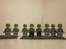 Lego WWII Custom German Soldiers (Light Grey)