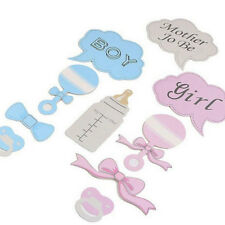 10Pcs/set Baby Infant Full Moon Pacifier Photo Booth Props Glasses Party