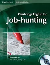Cambridge English for Job-Hunting by Colm Downes (2008, CD / Paperback,...