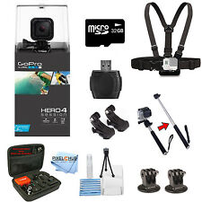 GoPro HERO4 Session With Sandisk 32GB Everything You Need Bundle! New Release!!