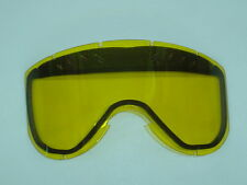 Smith Yellow PMT Double Vented Option Knowledge Turbo Fan SMX SME Goggle Lens