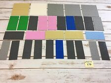 """LEGO Base Plate Lot of 30 16x16 16x8 16x6 Thick Baseplate 5"""" X 5""""  Friends"""