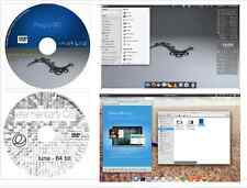 PinguyOS 14.04 LTS & Elementary OS 64 bit 2 disk Complete Operating Systems