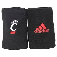 New! ADIDAS NCAA Cincinnati Bearcats UC Black Wristbands Sweat Basketball (PAIR)
