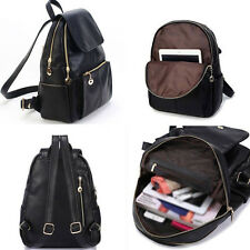 Hot CHEAP Fashion Women Faux Leather Small Backpack Rucksack School Shoulder Bag