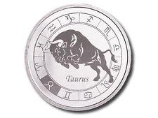 Zodiac Horoscope | Taurus | BU 1 Ounce .999 Silver Round - USA MADE BULLION COIN