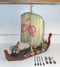 LEGO Vikings Ship challenges Midgard Serpent #7018 w/ Minifigures (not complete)