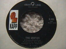 "THE UNIFICS ""COURT OF LOVE"" / ""WHICH ONE SHOULD I CHOOSE"" 7"" 45 NEAR MINT 1968"