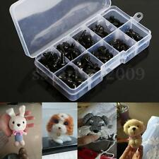 100pcs 5 sizes PVC Plastic Safety Nose 8-15mm Triangle Doll Teddy Puppet Making