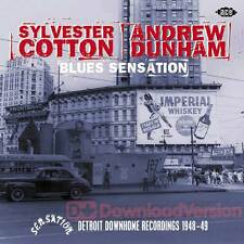 Sylvester Cotton/Andrew Dunham - Blues Sensation: Detroit Downhome Recordings 19