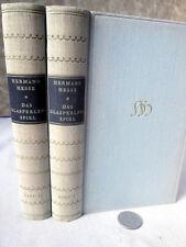 2Vols,DAS GLASPERLENSPIEL,1943,Hermann Hesse,1st Edition