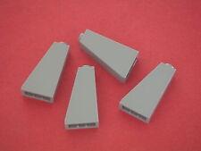 Lego Star Wars 4 Briques inclinées 2x1x3 gris clair neuves REF 4460b SET 10188