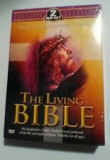The Living Bible 2 DVD Set Collector's Classic  New & Sealed