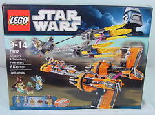 ANAKIN and SEBULBA'S PODRACERS~ Lego #7962~ STAR WARS~ FACTORY SEALED~810 pieces
