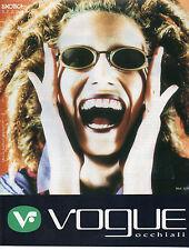Publicité 1998  Lunette VOGUE  collection mode Mod. 3239 S