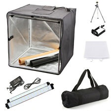 "60cm 24"" Portable Photo Studio Box 126 LED Light Tent Photo Video Lighting Cube"