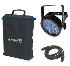 Chauvet DJ Slimpar56 Irc Ip Outdoor LED Par Can Light W/ Dmx Cable & Arriba Bag