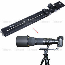 Long-Zoom Lens Bracket Holder + Camera Quick Release Plate for Tripod Ball Head