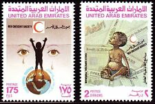 UAE 1990 ** Mi.306/07 Rotes Kreuz Red Cross | Red Crescent Society